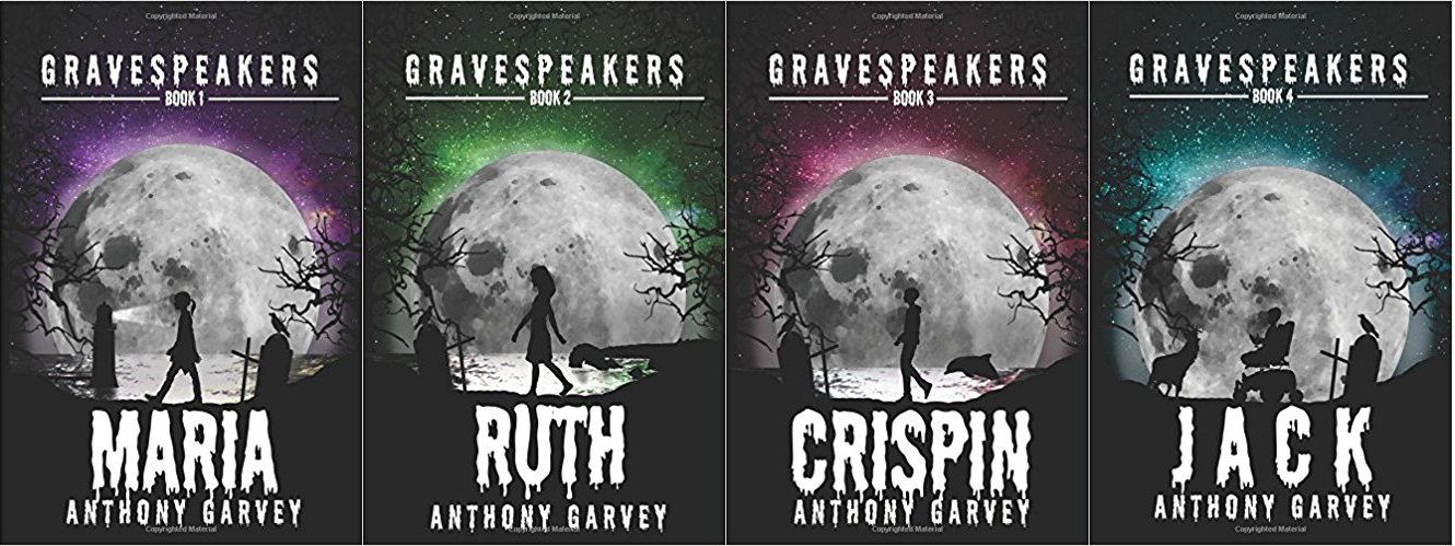 Gravespeakers, Books Covers